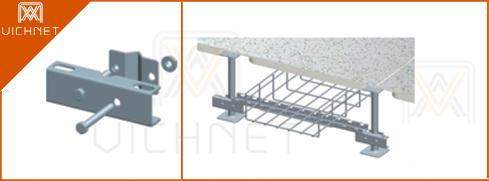 静电地板V型固定组件